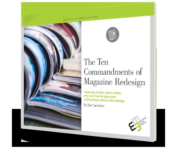 The 10 Commandments of Magazine Redesign eBook