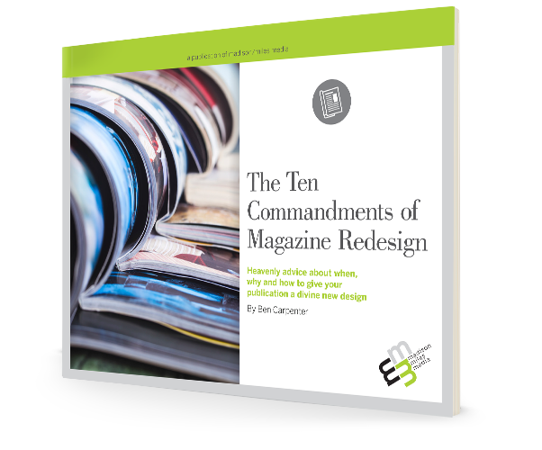 The 10 Commandments of Magazine Redesign eBook